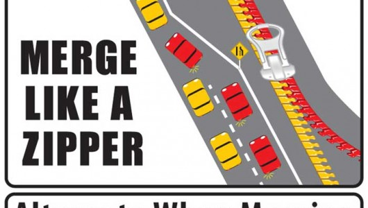how to merge with traffic