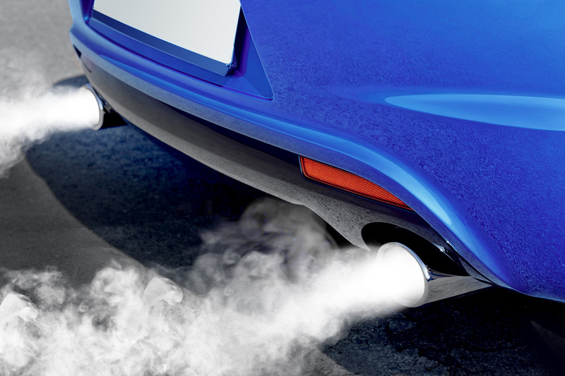 Exhaust Coming Out Of A Car ~ Three colours of smoke coming out a car exhaust that